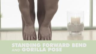 01.Yoga Standing Forward Bend