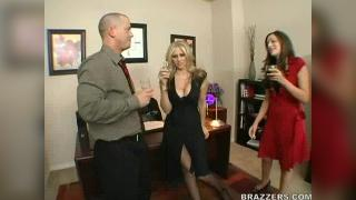 Julia Ann Office Party Fucking