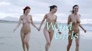 Ariel, Ashley & Lorena G Wind Girls