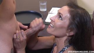 Raven LeChance Makes Cock Spurt Jizz