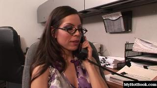Yurizan Beltran only just started at the office but the overall hornyness of
