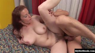 Carol loves getting her tits squeezed as she squats her ratchet hairy white