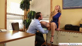 Nicole Aniston Makes Her Man Relax in The Office Naughty Office Naughty America
